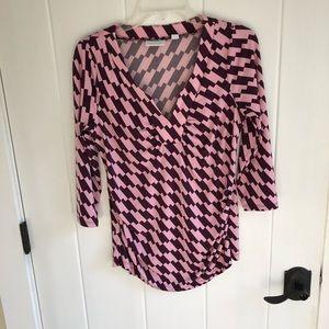NY&CO shirred blouse